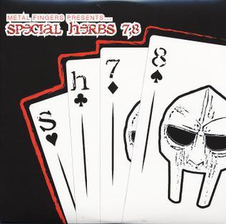 <i>Special Herbs, Vols. 7 & 8</i> 2004 studio album by Metal Fingers