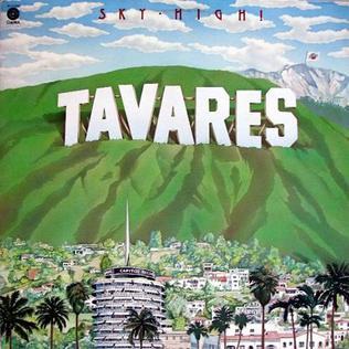 <i>Sky High!</i> 1976 studio album by Tavares
