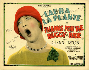 <i>Thanks for the Buggy Ride</i> 1928 film