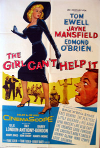 The Girl Can't Help It film poster