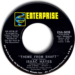 Theme from <i>Shaft</i> Single by Isaac Hayes