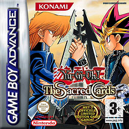 <i>Yu-Gi-Oh! The Sacred Cards</i> Game Boy Advance game based on the Yu-Gi-Oh! anime