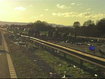 2011 M5 motorway crash - Wikipedia