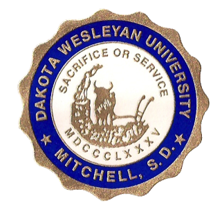 321px The Seal of Dakota Wesleyan University 1904-Present.png