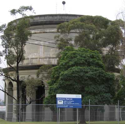 Bankstown Reservoir was built on reinforced concrete piers, which is one of the oldest of this type in the Sydney region.