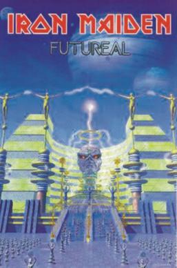 Titelbild des Gesangs Futureal von Iron Maiden