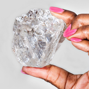 gem-quality diamond that was found in the Karowe mine in Botswana on 16 November 2015