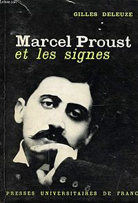 <i>Proust and Signs</i> book by Gilles Deleuze