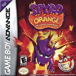 Crash Bandicoot Purple: Ripto's Rampage and Spyro Orange