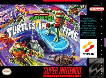 Picture of a game: Teenage Mutant  Ninja  Turtles IV: Turtles In Time