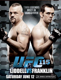 UFC 115 Franklin vs Liddell