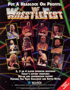 Picture of a game: Wrestlefest
