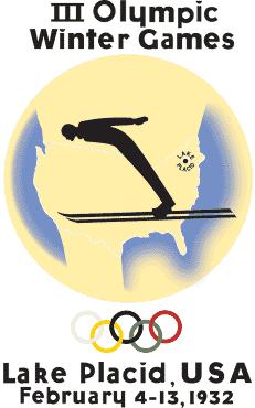 1932 Winter Olympics logo