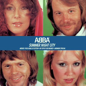 Cover image of song Summer Night City by ABBA