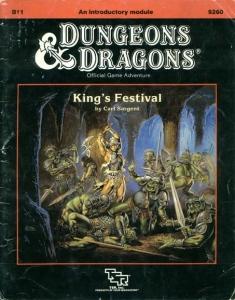 Cover of B11 King's Festival