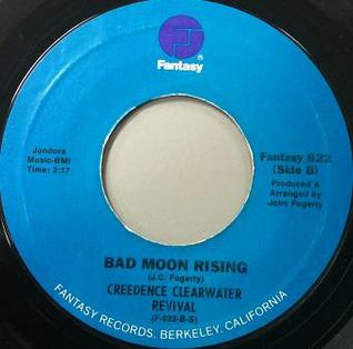 Bad Moon Rising Creedence Clearwater Revival song