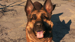 Dogmeat (<i>Fallout</i>) non-player character dog in the Fallout series