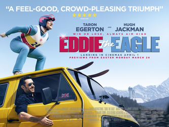 Eddie the Eagle, Amy Robsart Hall, Syderstone Norfolk, PE31 8SD | Eddie the Eagle (PG)  A great film for all the family. | film children
