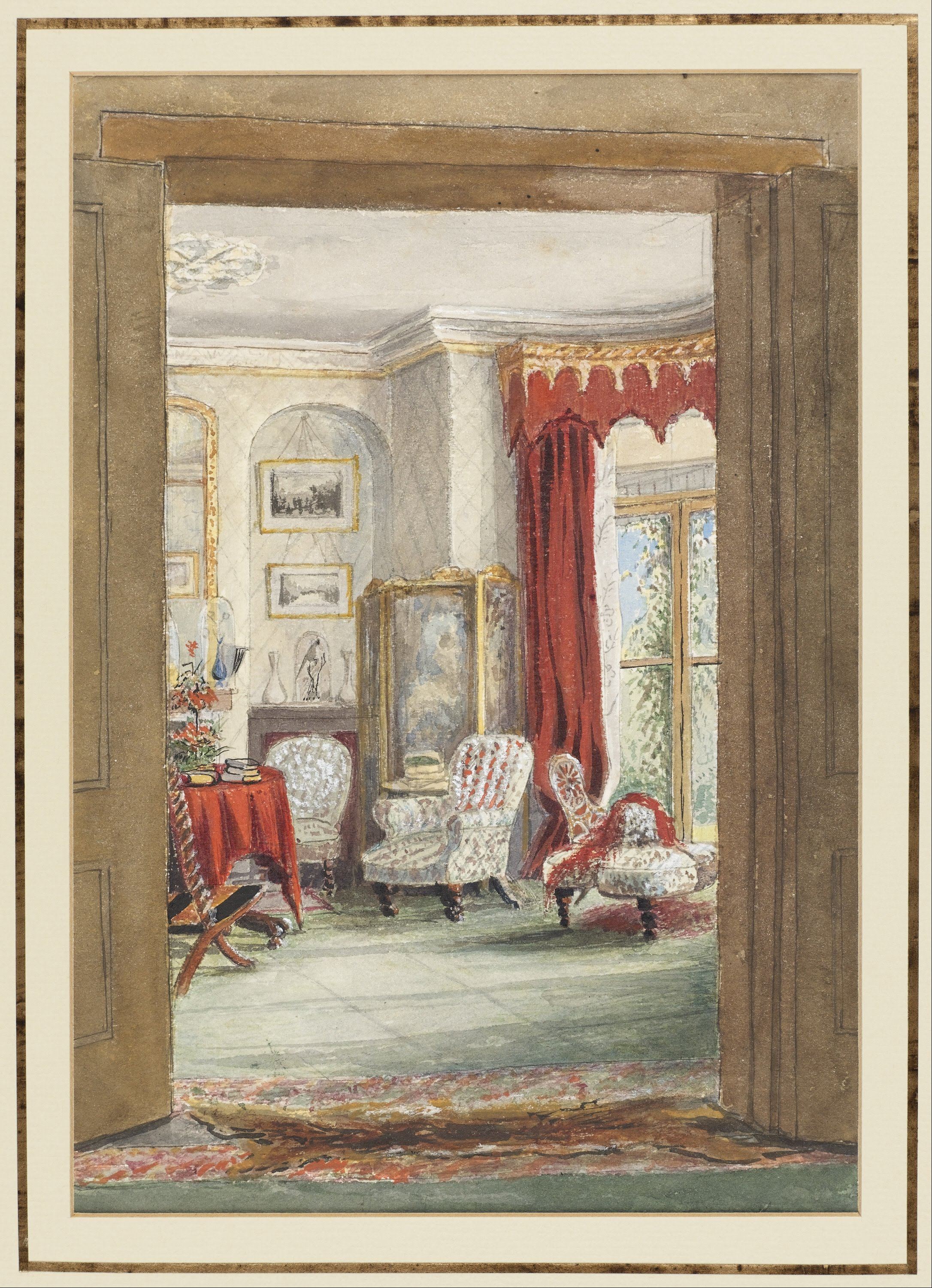 Filemaria Cheval Tooke A View Of The Drawing Room Cosham