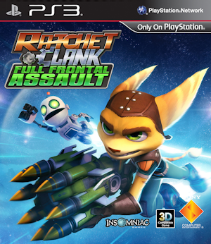 Image result for Ratchet and Clank full frontal assault