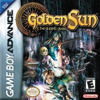 Picture of a game: Golden Sun: The Lost Age