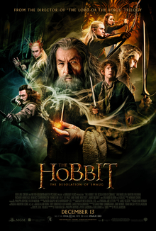 The Hobbit 2 The Desolation Of Smaug 2013 USA Peter Jackson Graham McTavish Ian McKellen Ken Stott Martin Freeman, Richard Armitage Adventure, Fantasy