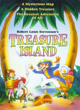Treasure Island Book Front Cover