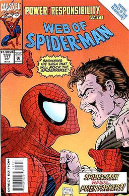 Volume 1 AMAZING SPIDER-MAN # 391  1994 i