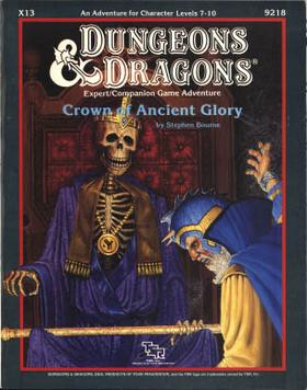 Cover of X13 Crown of Ancient Glory