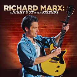 Richard Marx, A Night Out With Friends, cd, image, poster, front, cover