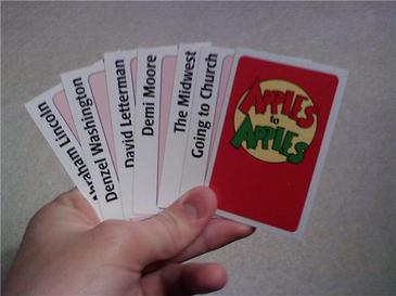 how to play apples to apples disney out