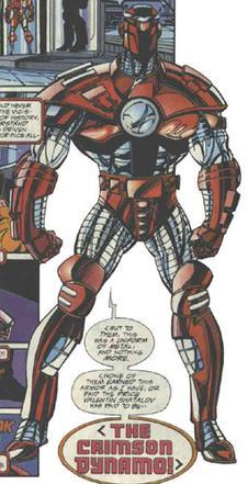 Marvel Super Hero Squad CRIMSON DYNAMO Yuri Petrovich from Iron Man Armor Wars 2