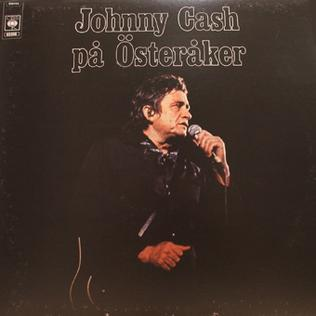 <i>På Österåker</i> 1973 live album by Johnny Cash