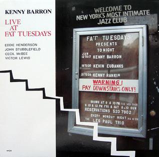<i>Live at Fat Tuesdays</i> 1988 live album by Kenny Barron