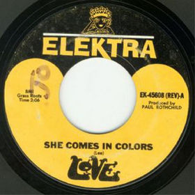 She Comes in Colors 1966 single by Love