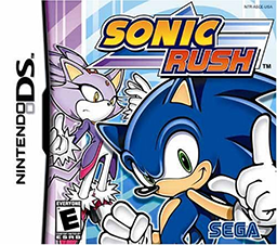 Picture of a game: Sonic Rush