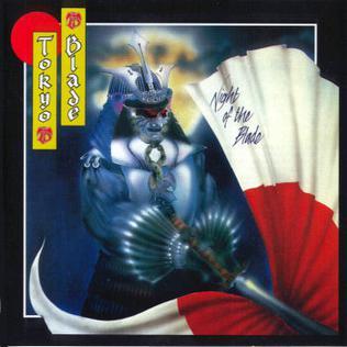 <i>Night of the Blade</i> 1984 studio album by Tokyo Blade