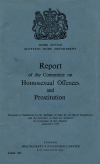 Decriminalisation of homosexuality 1967