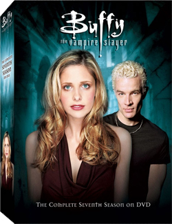 Buffy Season 7 DVD cover art.