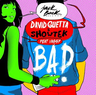 David Guetta and Showtek featuring Vassy — Bad (studio acapella)