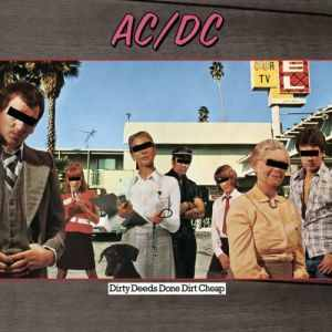 <i>Dirty Deeds Done Dirt Cheap</i> album by AC/DC