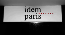 "The words ""Idem Paris"" in lowercase black text against a white background."