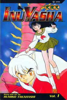 First volume of Viz's English translation of the InuYasha manga