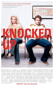 Knocked Up (2007) movie poster