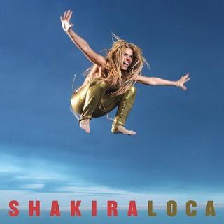 Shakira featuring Dizzee Rascal — Loca (studio acapella)