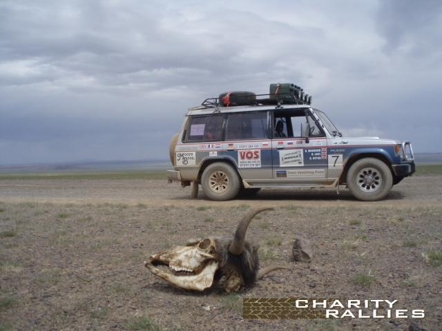 Mongolia charity rally - Wikipedia