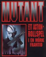 Mutant, box cover of 1989 version of Swedish role-playing game.jpg