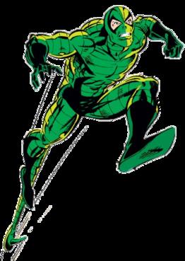 "MARVEL Abominations Marvel univers 4/"" Figure #19 série 5 wave 3 2013 Vert"