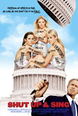 Risultati immagini per shut up and sing dixie chicks poster