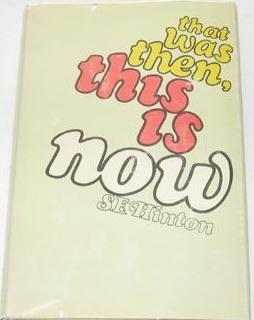 <i>That Was Then, This Is Now</i> novel by S. E. Hinton